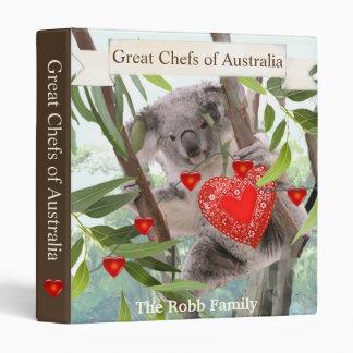 Koalas Valentine's Day Party Binder
