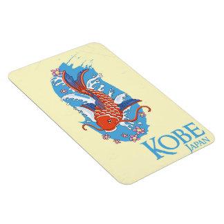 Kobe Japan Vintage travel poster Magnet