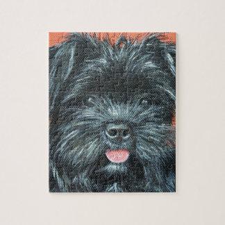 Koda - Terrier Painting Jigsaw Puzzle