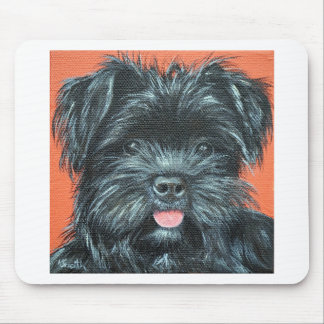 Koda - Terrier Painting Mouse Pad