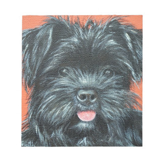 Koda - Terrier Painting Notepad