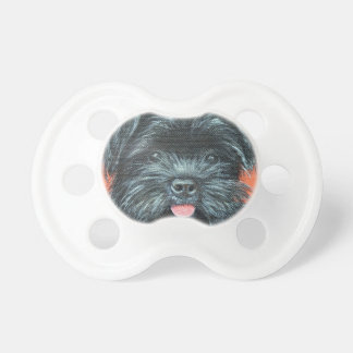 Koda - Terrier Painting Pacifier
