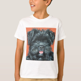 Koda - Terrier Painting T-Shirt