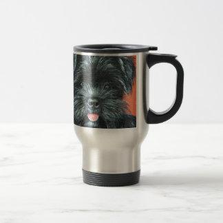 Koda - Terrier Painting Travel Mug