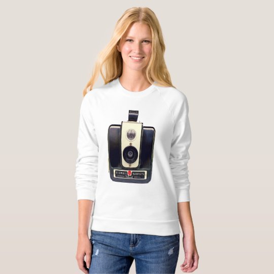 Kodak brownie camera sweatshirt