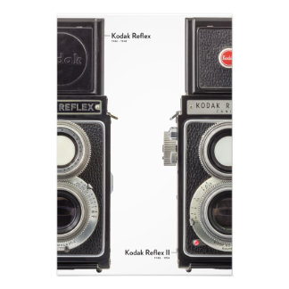 Kodak Reflex I and Kodak Reflex II Photo Print