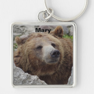 Kodiak Bear Keychain