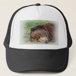 Kodiak Bear Sleeping Hat