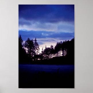 Kodiak Sunset on Long Island Poster