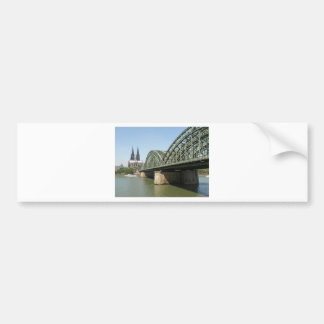 Koelner Dom gothic cathedral church in Koeln Bumper Sticker