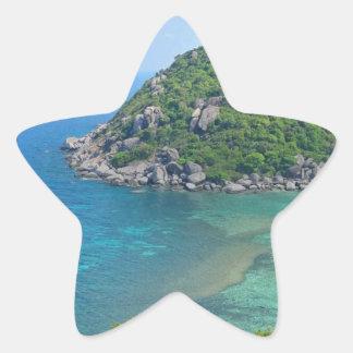 Koh Tao Thailand Star Sticker