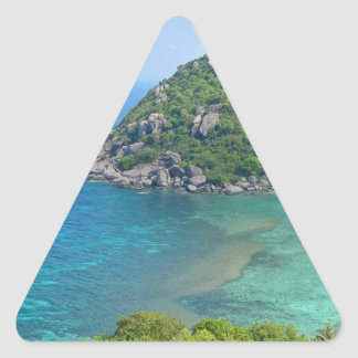 Koh Tao Thailand Triangle Sticker