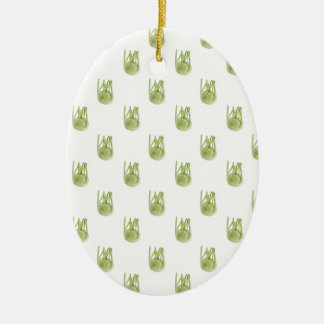 Kohlrabi wallpaper ceramic ornament