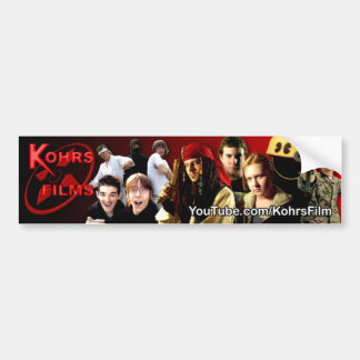 Kohrs Films Bumper Sticker