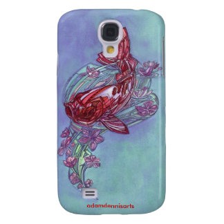 Koi and Sakura iPhone 3G/3GS Case