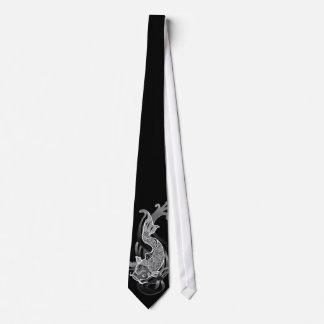 Koi B&W Tie