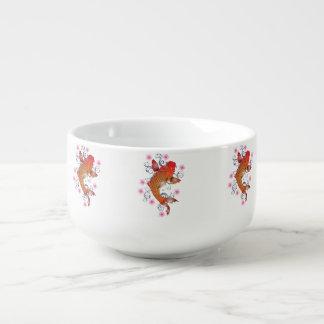 Koi carp soup mug