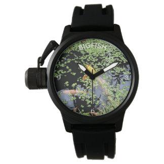 Koi Carp with Name Template Watch