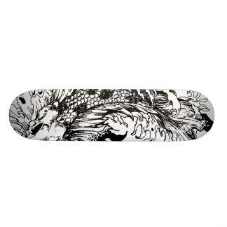 Koi Carpa Custom Skate Board