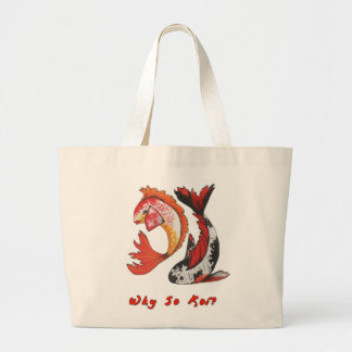 Koi Carry-All Large Tote Bag