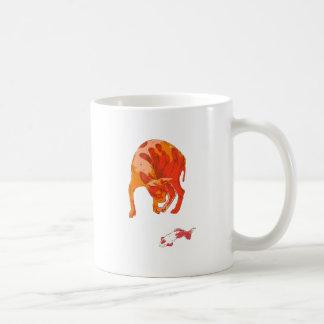 Koi Cat Coffee Mug