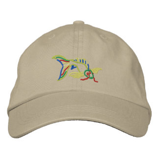 Koi Embroidered Hat