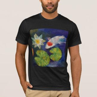 Koi et T-shirt de nénuphar