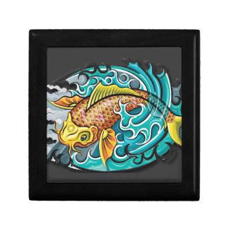 Koi Fish Art Jewelry Boxes