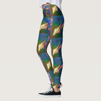 Koi Fish Art Leggings