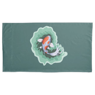 Koi Fish Artwork Pillowcase