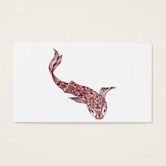 Koi Fish Business Card