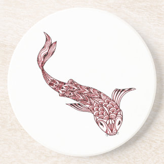 Koi Fish Coaster