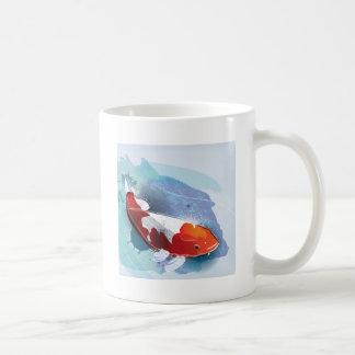 Koi fish coffee mug