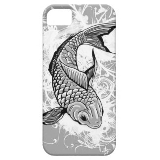 Koi fish (gray) case for the iPhone 5