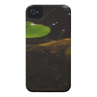 Koi Fish in a Lily Pond iPhone 4 Covers