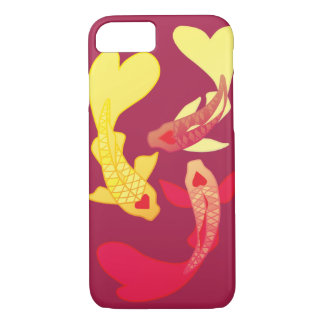 Koi Fish iPhone 7, Barely There Case