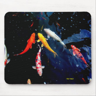 Koi Fish Mouse Pad