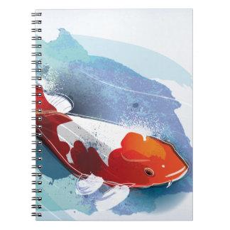 Koi fish note books