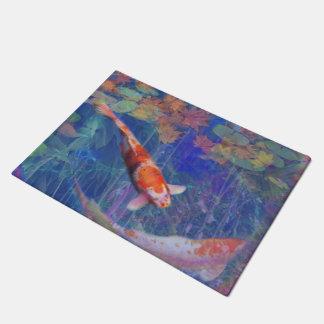 Koi Fish Pond Doormat