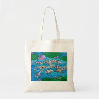 Koi Fish Pond Tote