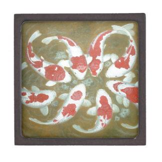 KOI FISH PREMIUM JEWELRY BOX