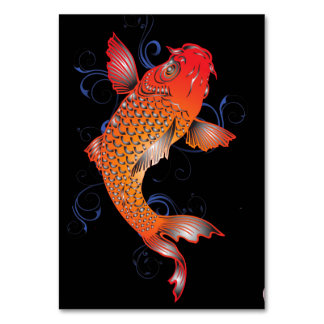 Koi Fish Sealife Card