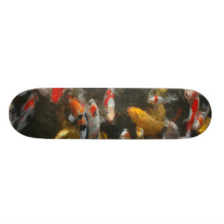 Koi Fish Skate Board Deck