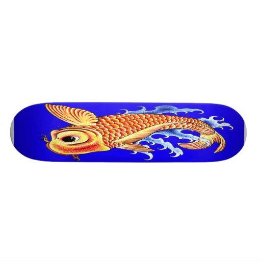 koi fish skateboard