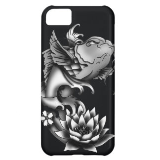 Koi fish tattoo design - Black iPhone 5C Cover