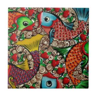 Koi Fish Tile