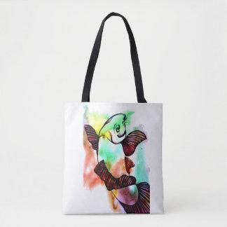 Koi Fish Tote Bag