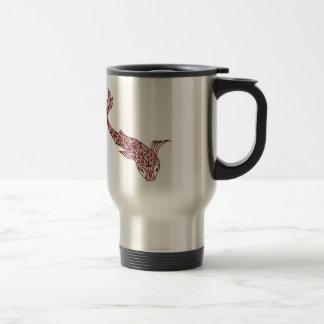 Koi Fish Travel Mug