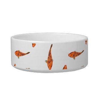 Koi Fishes Motif Pattern Bowl
