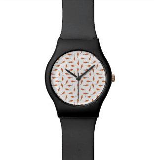 Koi Fishes Motif Pattern Watch